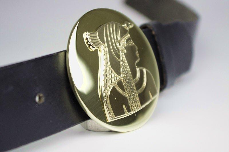 Boucle de ceinture de gravure au diamant