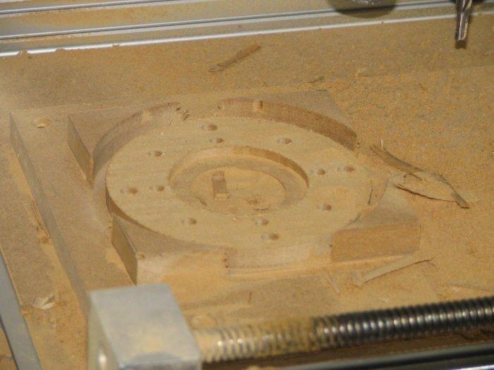 Fabrication de moules CNC avec panneaux MDF