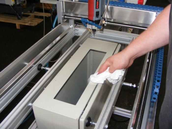Fraiseuse CNC armoire de contrôle