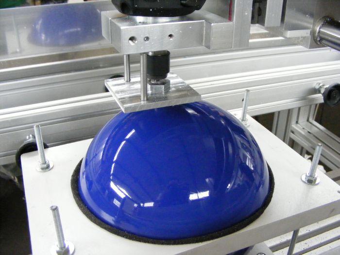 Gravure de boule de bowling avec machine CNC High-Z