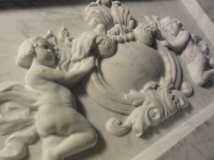 Gravure de pierre 3D en marbre