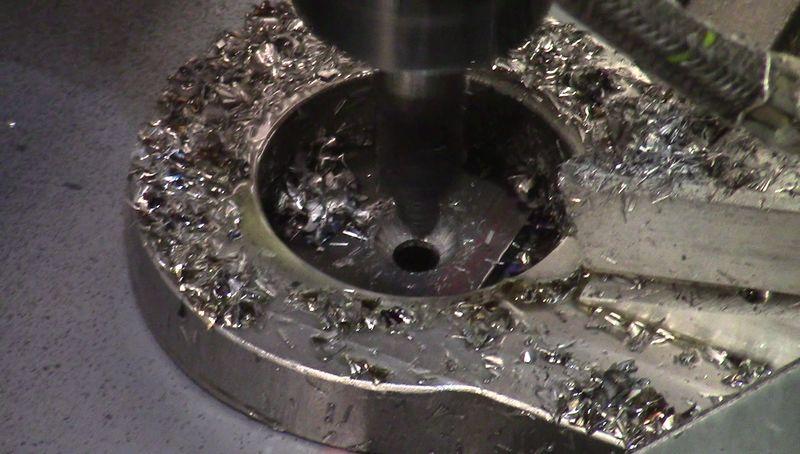 Maintenance pneumatique du foret CNC