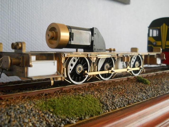Moulin en laiton pour train miniature