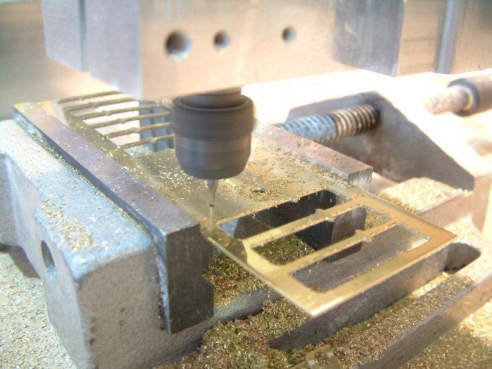 Feuille de laiton pour construction de modèle