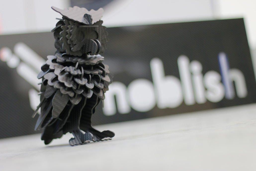 Puzzle 3D en carbone