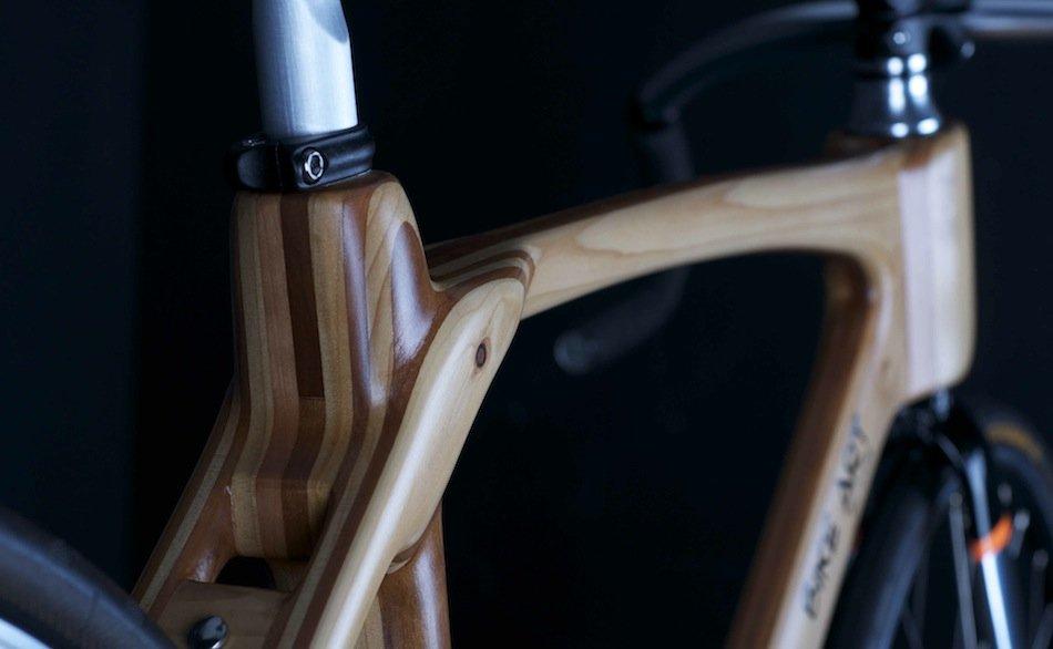 Vélo 3D avec cadre en bois kallisto
