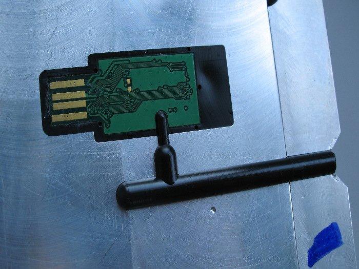 Injection forme clé USB