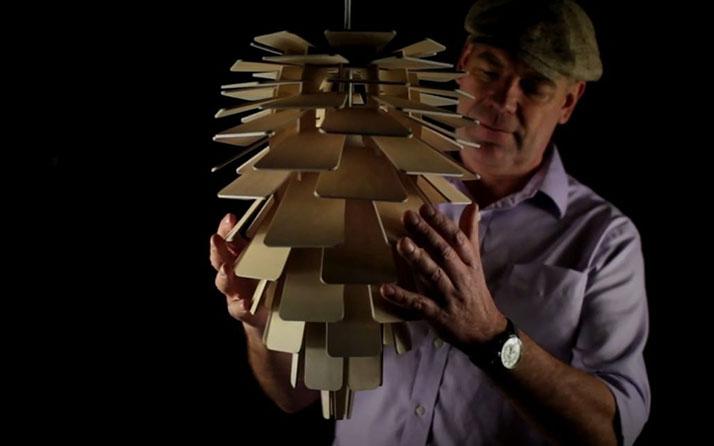 Lampes en design bois
