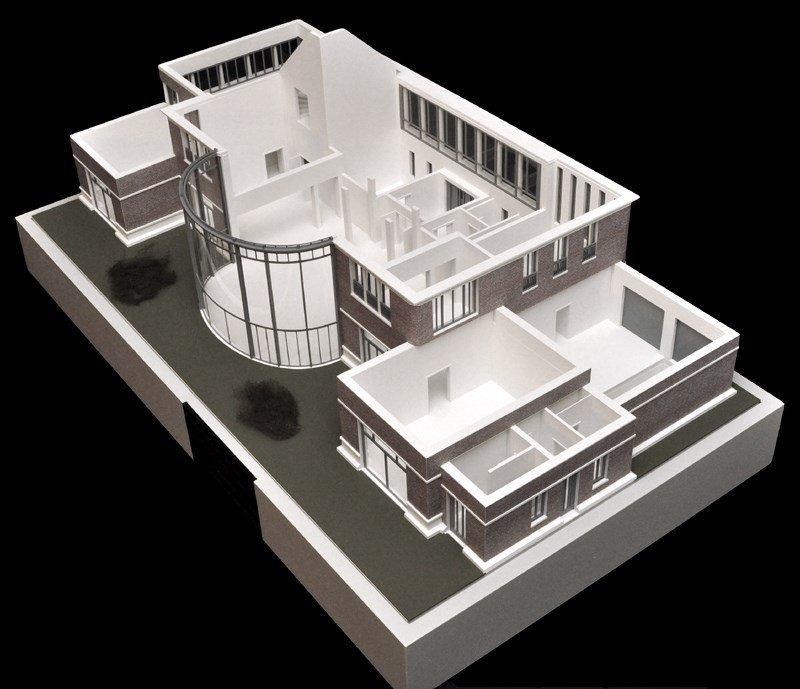 Modèle maison d'architecte