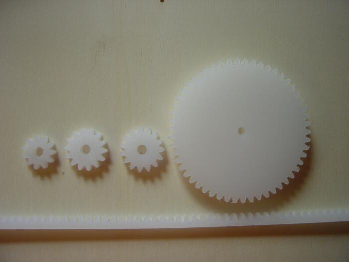 maquette de bâtiment engrenages cnc fraisage