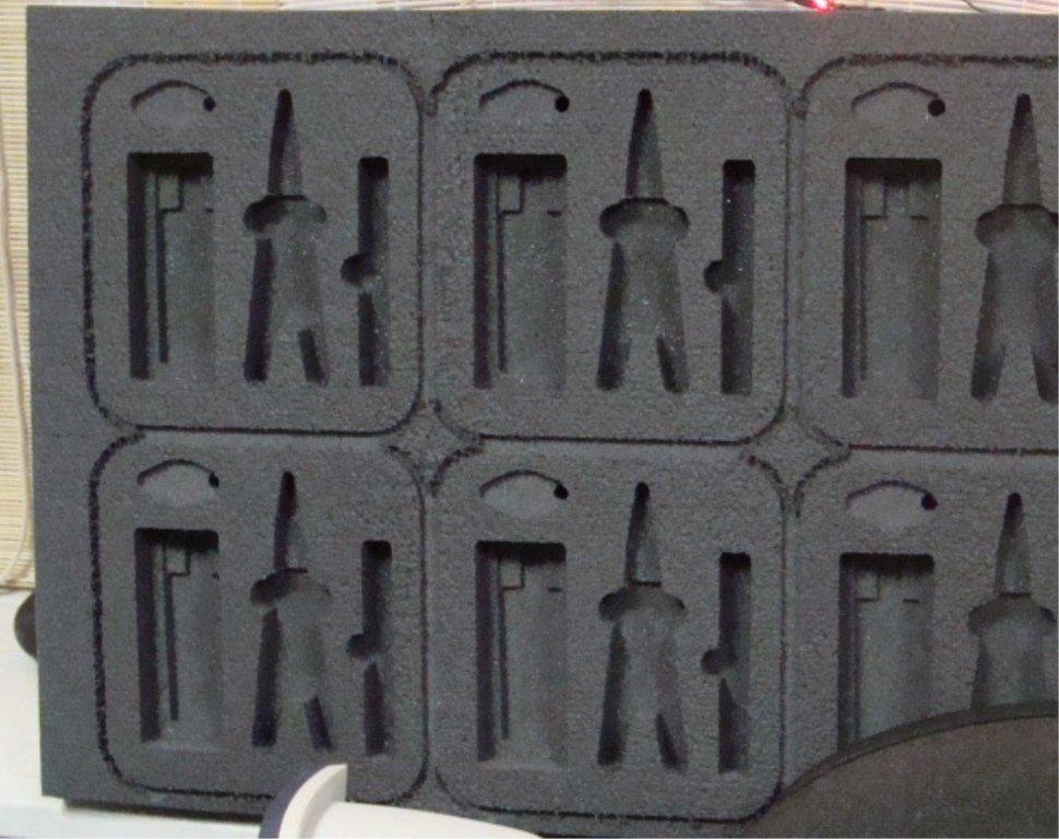 outils d'insertion en mousse